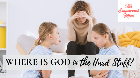 Where is God in the Hard Stuff? {Launch Week Giveaway Day #3}