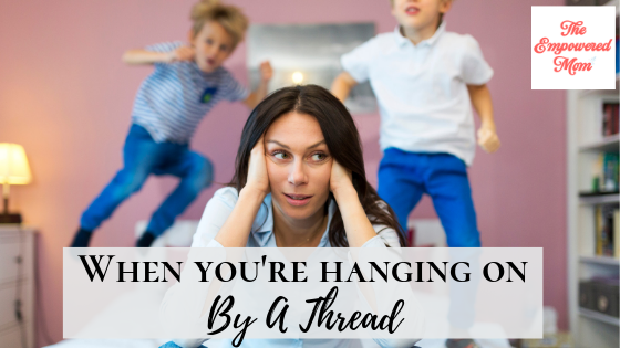 For When You're Hanging on by a Thread {Launch Week Giveaway Day #5}