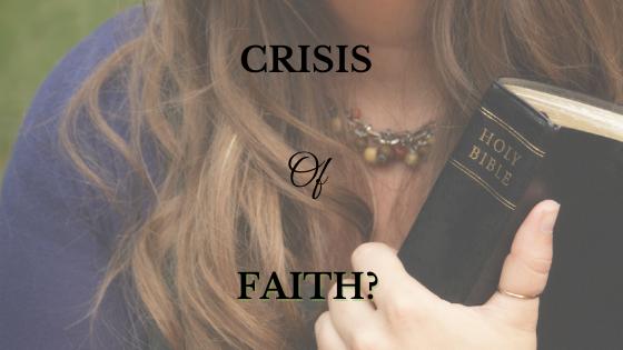 Crisis of Faith?